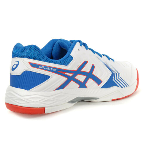 Asics Gel Game 6 (White/Race Blue)
