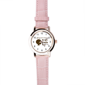 Getting Back To Basics Women's Leather Quartz Casual Wrist Watch