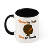 Powered by Faith Color Mug with Color Inside and on Handle 11oz