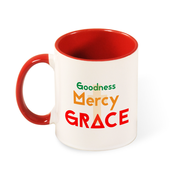 Goodness Mercy Grace Coffee Mug