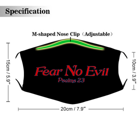 Fear No Evil - Face Mask with Filter Element Spare Filters