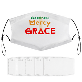 Goodness Mercy & Grace Washable Face Masks with Filters