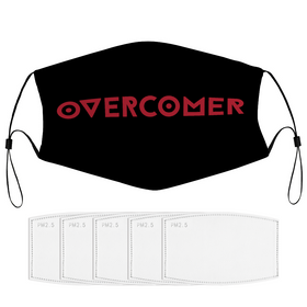 Overcomer Face Mask with Filter Element and Multiple Spare Filters