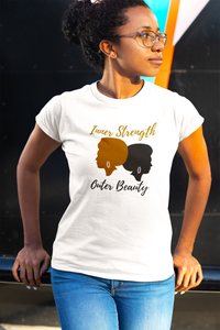 Inner Strength Outer Beauty Women's Short-Sleeve T-Shirt