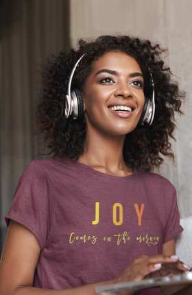 Joy in the Morning Unisex Short Sleeve Tee