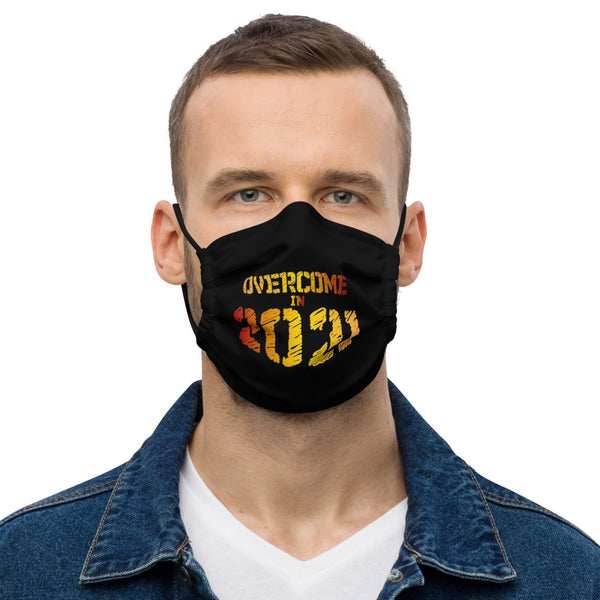 Overcome in 2021 Premium Washable Reusable Face Mask