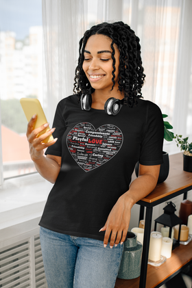 Love Word Cloud Short-Sleeve Unisex T-Shirt