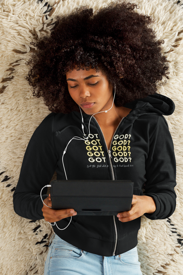 Got God Unisex Zippered Hoodie