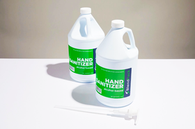 Instant Hand Sanitizer 70% Alcohol- 1 Gallon, Pack of 2