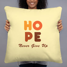 Load image into Gallery viewer, Hope Throw Pillow