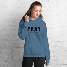 Load image into Gallery viewer, Pray Without Ceasing Unisex Hoodie Blk-Wht