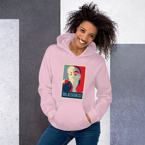 """Blessed"" Custom Designed Unisex Hoodie (with your image)."