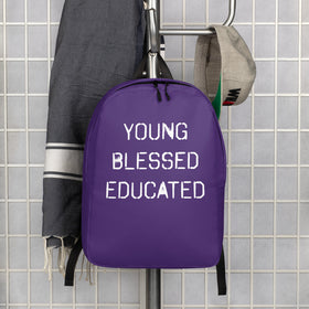 Young, Blessed, & Educated Minimalist Backpack