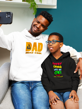 Dad Mad Cool Men's Hoodie