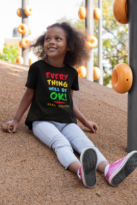 Everything Will Be Ok Youth Short Sleeve T-Shirt