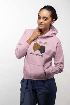 Inner Strength Outer Beauty Woman's Hoodie