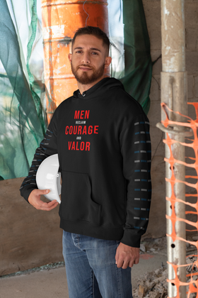Men Reclaim Courage And Valor Men's Hoodie