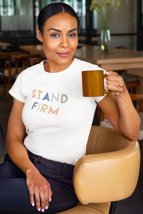 Stand Firm Short-Sleeve Unisex T-Shirt