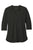 LK750 Port Authority  Ladies UV Choice Pique Henley - Black