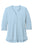 LK750 Port Authority  Ladies UV Choice Pique Henley - Cloud Blue