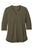 LK750 Port Authority  Ladies UV Choice Pique Henley - Deep Olive
