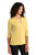 LK750 Port Authority  Ladies UV Choice Pique Henley - Yellow