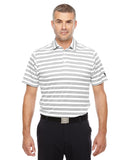 1283704 Under Armour Tech Stripe Polo - WHITE