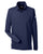 1283708 Under Armour Men's Performance Long Sleeve Polo - MIDNIGHT