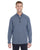 1289407 Under Armour Men's Tech Stripe Quarter Zip - MIDNIGHT