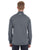 1289407 Under Armour Men's Tech Stripe Quarter Zip - BLACK