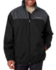 2015 Columbia Men's Glennaker Lake™ Rain Jacket - BLACK/GRILL