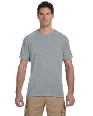 Jerzees 5.3 oz., 100% Polyester SPORT with Moisture-Wicking T-Shirt. 21M. - LogoShirtsWholesale                                                                                                       - 1
