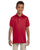 437Y Jerzees Youth 5.6 oz., SpotShield Polo - RED