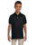 437Y Jerzees Youth 5.6 oz., SpotShield Polo - BLACK