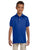 437Y Jerzees Youth 5.6 oz., SpotShield Polo - ROYAL