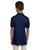 437Y Jerzees Youth 5.6 oz., SpotShield Polo - NAVY