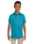 437Y Jerzees Youth 5.6 oz., SpotShield Polo - CALIFORNIA BLUE