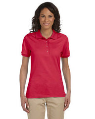 437W Jerzees Ladies' 5.6 oz., 50/50 Jersey Polo with SpotShield™ - LogoShirtsWholesale                                                                                                       - 1