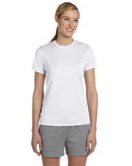 4830 Hanes Ladies' Cool DRI® with FreshIQ Performance T-Shirt - WHITE