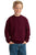 JERZEES 562B Youth Crewneck Sweatshirt - LogoShirtsWholesale                                                                                                       - 4