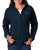 6439 Columbia Ladies' Benton Springs™ Full-Zip Fleece - NAVY