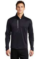 OE701 OGIO® ENDURANCE Fulcrum 1/4-Zip - BLACKTOP