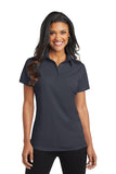 L571 Port Authority® Ladies Dimension Polo - BattleShip Grey