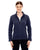 78172 Ash City - North End Ladies' Voyage Fleece Jacket - Navy