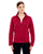78172 Ash City - North End Ladies' Voyage Fleece Jacket - Red