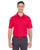 8210T UltraClub Men's Tall Cool & Dry Mesh Piqué Polo - RED