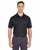 8210 UltraClub Men's Cool & Dry Mesh Piqué - BLACK