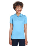8210L UltraClub Ladies' Cool & Dry Mesh Piqué Polo - Columbia Blue
