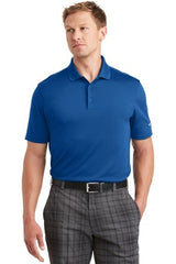 Golf Dri-FIT Players Polo with Flat Knit Collar. 838956 - GYM BLUE