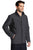 J336 Port Authority® Back-Block Soft Shell Jacket - BATTLESHIP GREY
